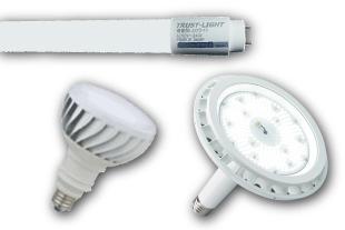 LED照明のイメージ